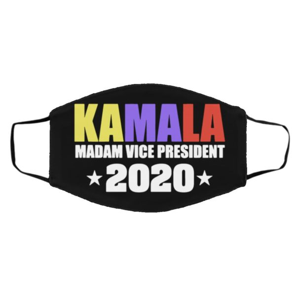 Kamala Harris Madame Vice President 2020 face mask