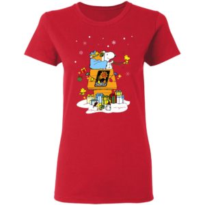 Phoenix Suns Santa Snoopy Wish You A Merry Christmas Shirt
