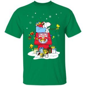 New York Red Bulls Santa Snoopy Wish You A Merry Christmas Shirt