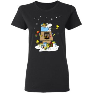 Los Angeles FC Santa Snoopy Wish You A Merry Christmas Shirt