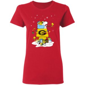 Grambling State Tigers Santa Snoopy Wish You A Merry Christmas Shirt