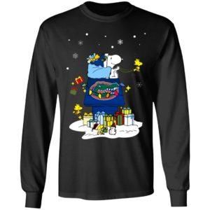 Florida Gators Santa Snoopy Wish You A Merry Christmas Shirt