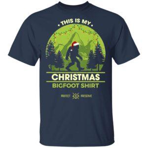 Bigfoot Santa This Is My Christmas Bigfoot Shirt Sweatshirt