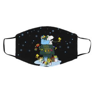 Baylor Bears Santa Snoopy Wish You A Merry Christmas face mask