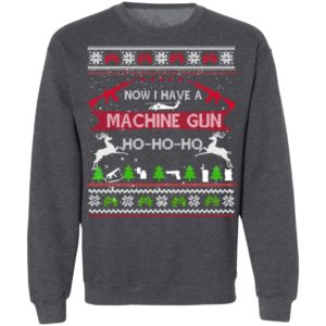 Die Hard Ugly Christmas Sweater Now I Have A Machine Gun