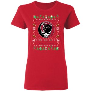 Atlanta Falcons Gratefull Dead Ugly Christmas Sweater