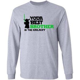 Star War Baby Yoda Best Brother In The Galaxy Shirt