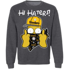 Hi Hater The Simpsons Christmas Gangster Pittsburgh Steelers Shirt