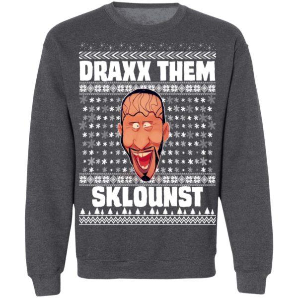 Draxx Them Sklounst Ugly Christmas Sweater
