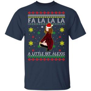 Fa La La La a Little Bit Alexis Ugly Christmas Sweatshirt