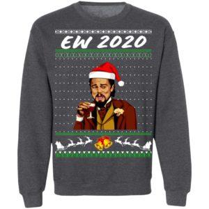 Ew 2020 Funny Santa Leonardo Dicaprio Ugly Christmas Sweatshirt