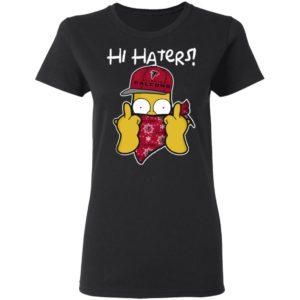 Hi Hater The Simpsons Christmas Gangster Atlanta Falcons Shirt