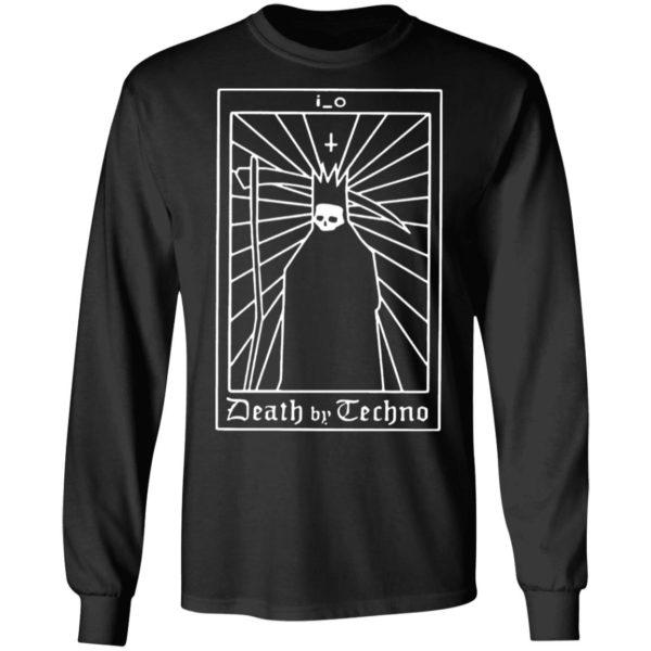 I O Death By Techno Back Classic Mens T-shirt, Hoodie, LS