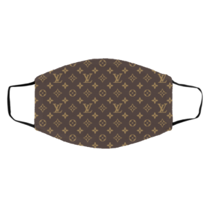 Inspired By Louis Vuitton Face Mask