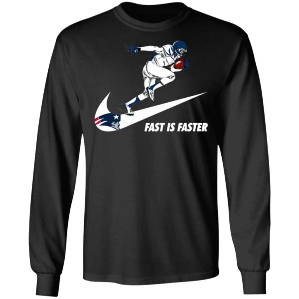 Fast Is Faster Strong New England Patriots Nike Shirt, Hoodie