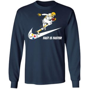 Fast Is Faster Strong Pittsburgh Steelers Nike Shirt, Hoodie