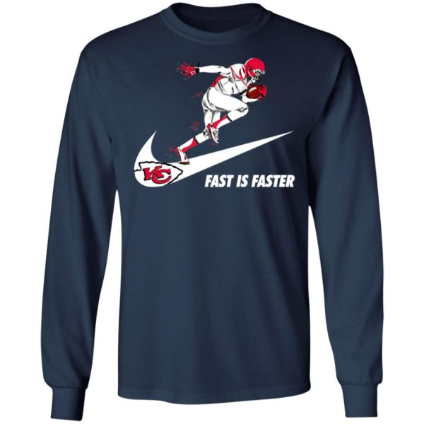 Fast Is Faster Strong Kansas City Chiefs Nike Shirt, Hoodie