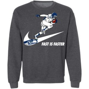 Fast Is Faster Strong Seattle Seahawks Nike Shirt, Hoodie