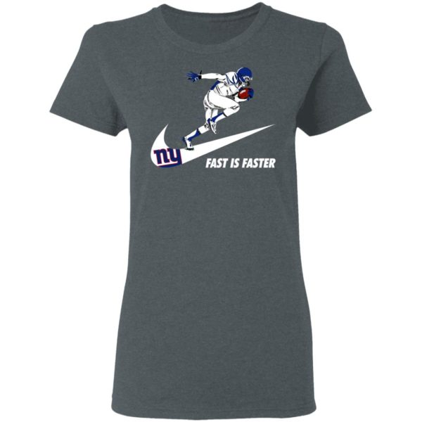 Fast Is Faster Strong New York Giants Nike Shirt, Hoodie