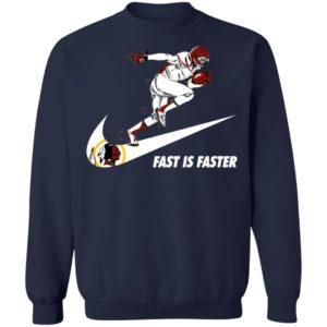 Fast Is Faster Strong Washington Redskins Nike Shirt, Hoodie