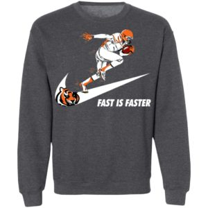 Fast Is Faster Strong Cincinnati Bengals Nike Shirt, Hoodie