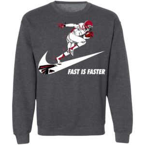 Fast Is Faster Strong Atlanta Falcons Nike Shirt, Hoodie