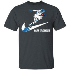 Fast Is Faster Strong Detroit Lions Nike Shirt, Hoodie