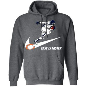 Fast Is Faster Strong Chicago Bears Nike Shirt, Hoodie