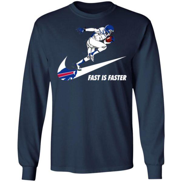 Fast Is Faster Strong Buffalo Bills Nike Shirt, Hoodie