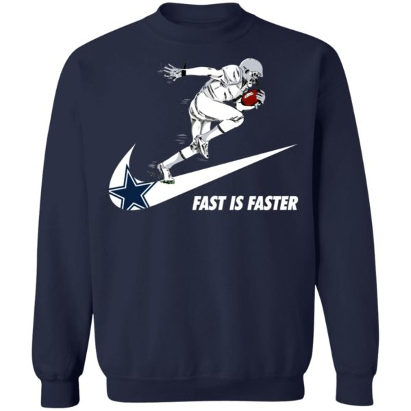 Fast Is Faster Strong Dallas Cowboys Nike Shirt, Hoodie