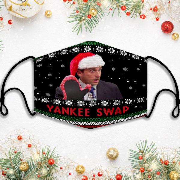 Xmas The Office Yankee SwapFace Mask