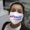 Fraud 2020 Trump Biden Election Result Face Mask