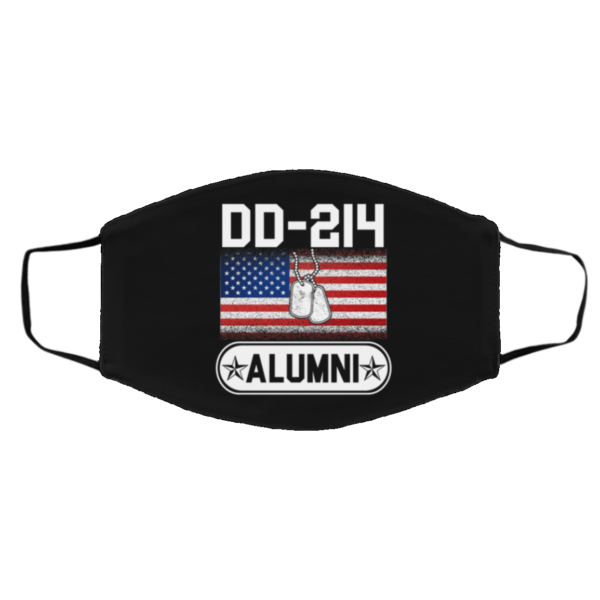 DD-214 Alumni Veteran I Haved Served Face Mask