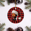 John Legend Merry Christmas Circle Ornament