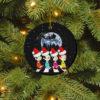 Abbey Road Santa The Beatles Christmas Decorative Ornament