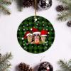 Nirvana Band Merry Christmas Circle Ornament