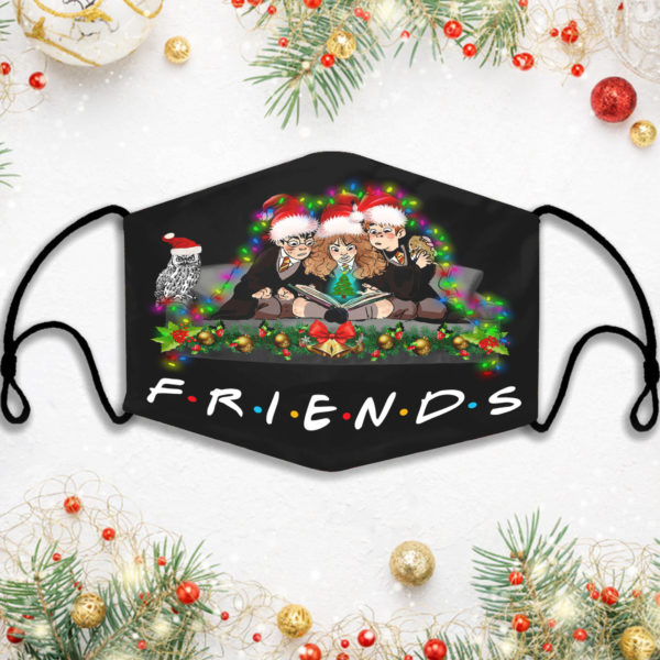 Harry Potter Characters Friends Christmas Face Mask