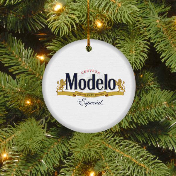 Modelo Especial Merry Christmas Circle Ornament