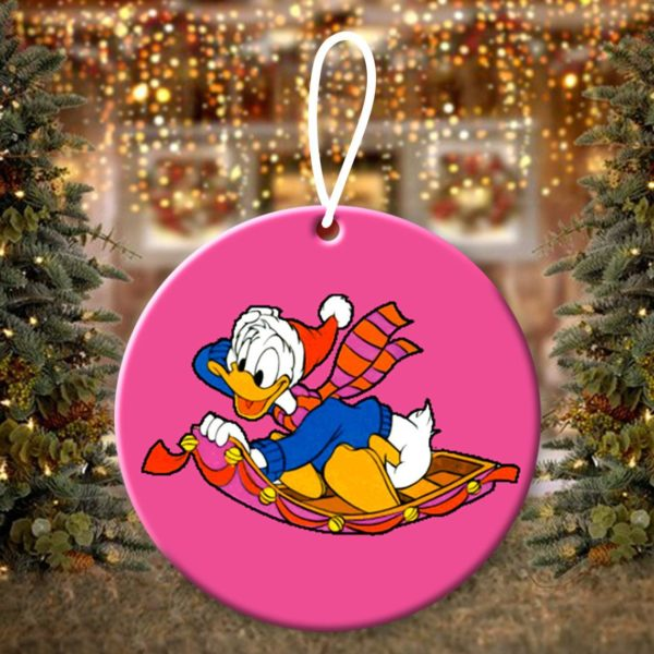 Donald Duck Christmas Ornaments Funny Holiday Gift
