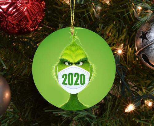 2020 Christmas Grinch Ornament