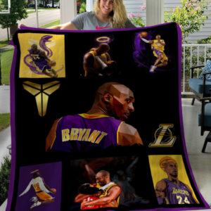 Kobe Bryant Super NBA Star American Professional Basketball Fleece Blanket, Sherpa Blanket