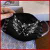 Washington Capitals glitter diamond cloth face mask reusable