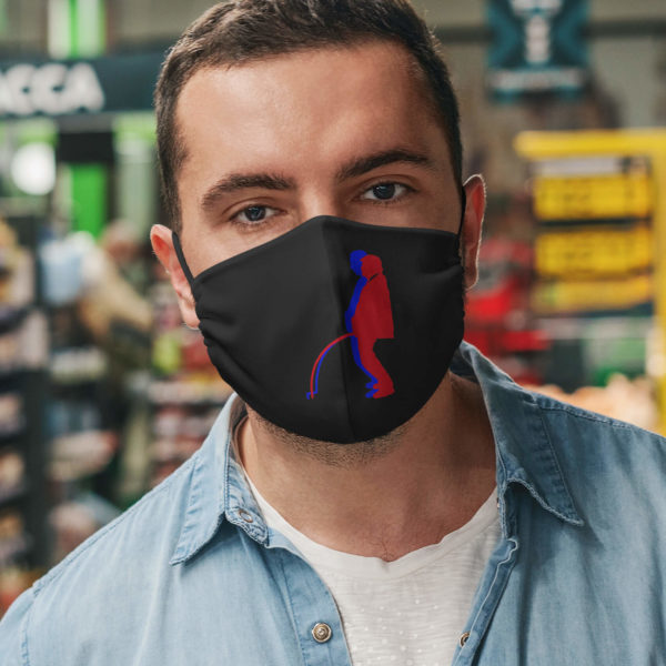 Election 2020 Fraud Face Mask