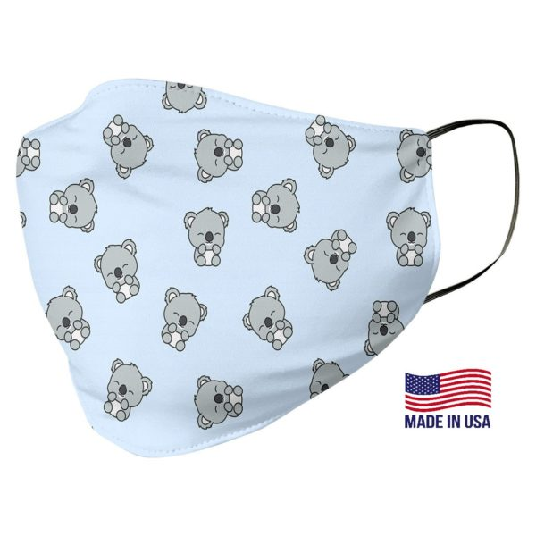 Cute Koala Pattern Face Mask