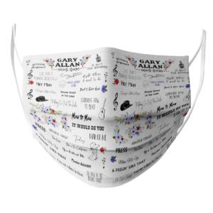 Gary Allan face mask