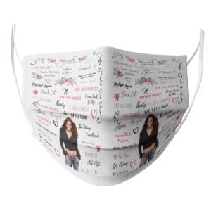 Janet Jackson face mask