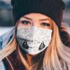 Janis Joplin face mask
