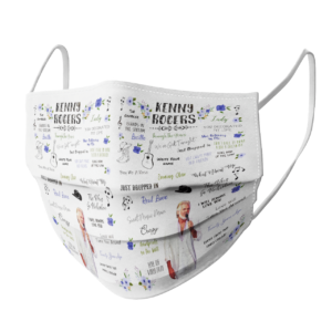 Kenny Rogers face mask