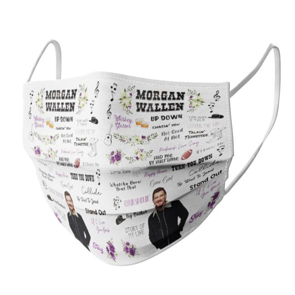 Morgan Wallen face mask