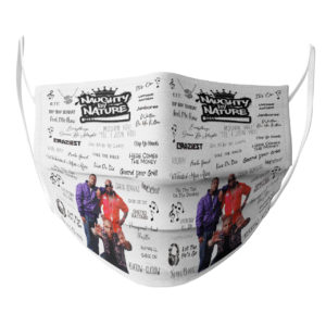 Naughty By Nature face mask